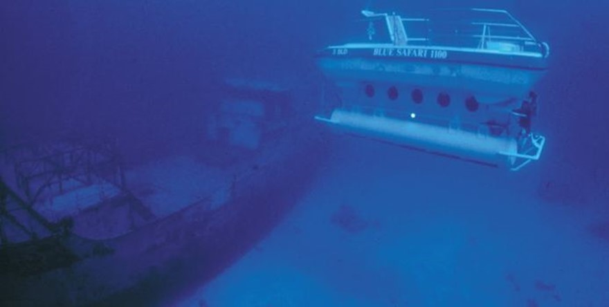 Oazure Activity : a submarine to discover the Mauritian seabed