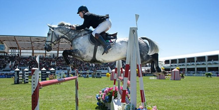 Oazure Mauritius official partner at the Longines International Show Jumping at La Baule/France