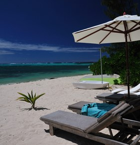 best beach house in mauritius for family
