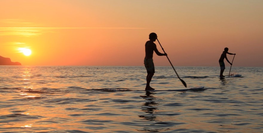 Le Stand-Up Paddle, nouveau sport en vogue